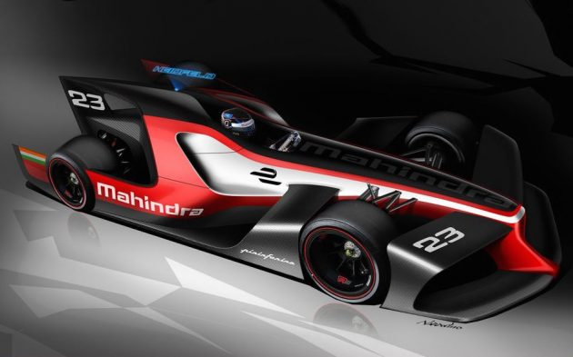 Mahindra Forumla E Pininfarina concept-1