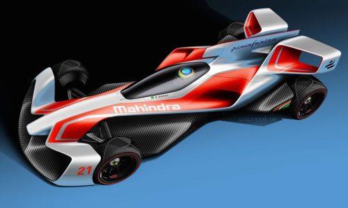 Mahindra Formula E concepts revealed, designed by Pininfarina