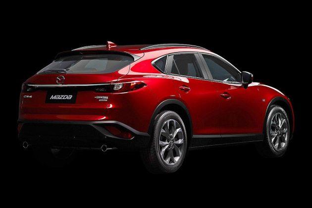 Mazda CX-4 red