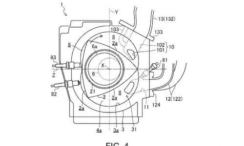 Mazda SkyActiv-R rotary patent application found, details interesting new layout