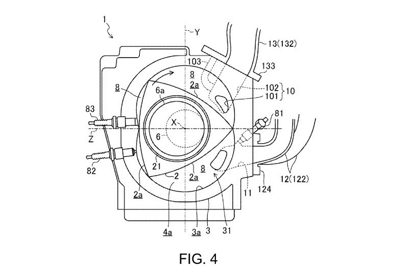 Mazda Skyactiv R Rotary Patent Application Found Details