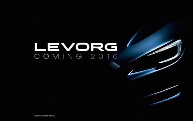 Subaru Levorg Australian website
