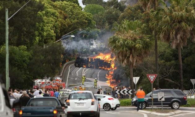 Sydney crash