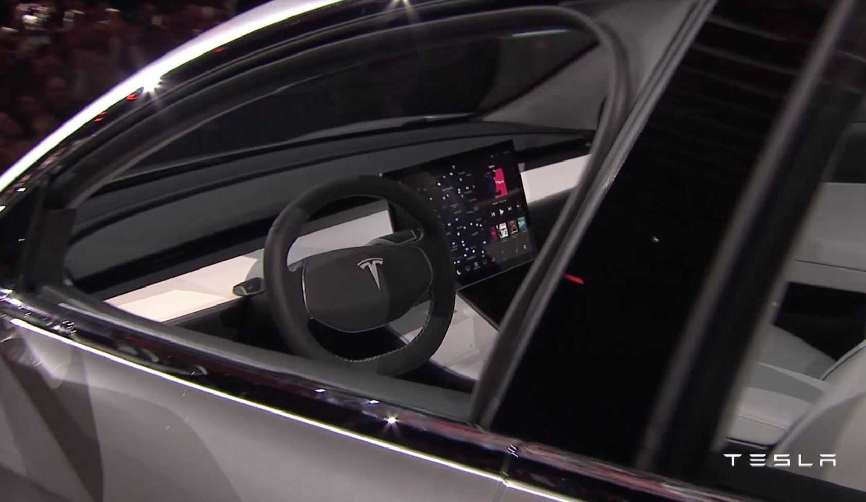 Tesla Model 3 Officially Revealed Performancedrive