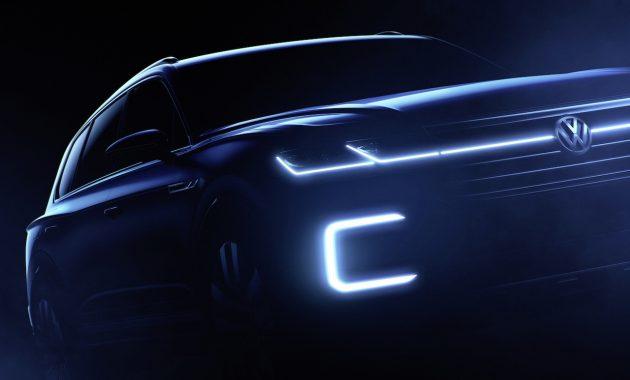 Volkswagen SUV concept-2016 Beijing