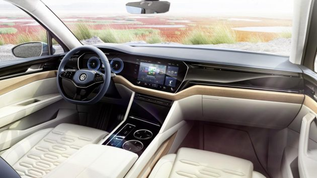 Volkswagen T-Prime GTE concept-dash