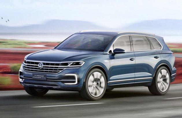 Volkswagen T-Prime GTE concept-driving
