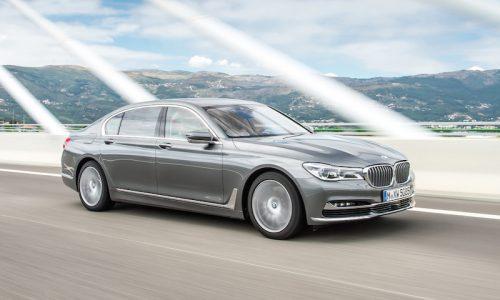 BMW 750d revealed; new quad-turbo super limo