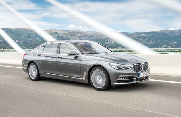 2016 BMW 750d