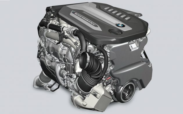 2016 BMW 750d quad-turbo