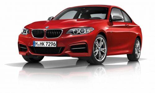 BMW M140i & M240i revealed; 250kW for entry M Performance models