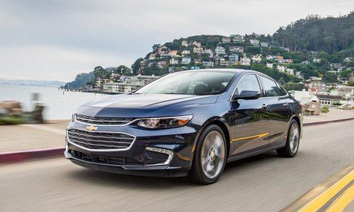 Top-spec 2017 Chevrolet Malibu to debut new 9-speed auto