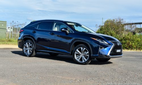2016 Lexus RX 200t review (video)