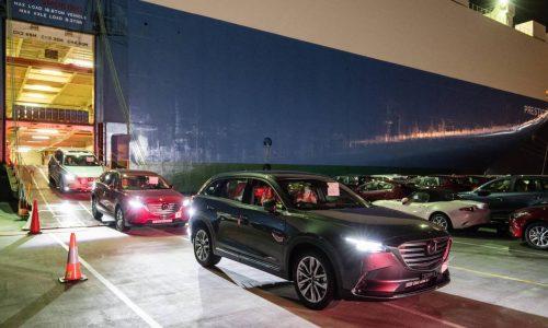 First 2016 Mazda CX-9 SUVs arrive in Australia, huge interest already