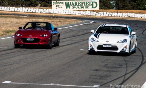 2016 Mazda MX-5 vs Toyota 86 comparison: track test (video)
