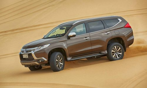 Mitsubishi Pajero Sport update coming in July, adds seven seats