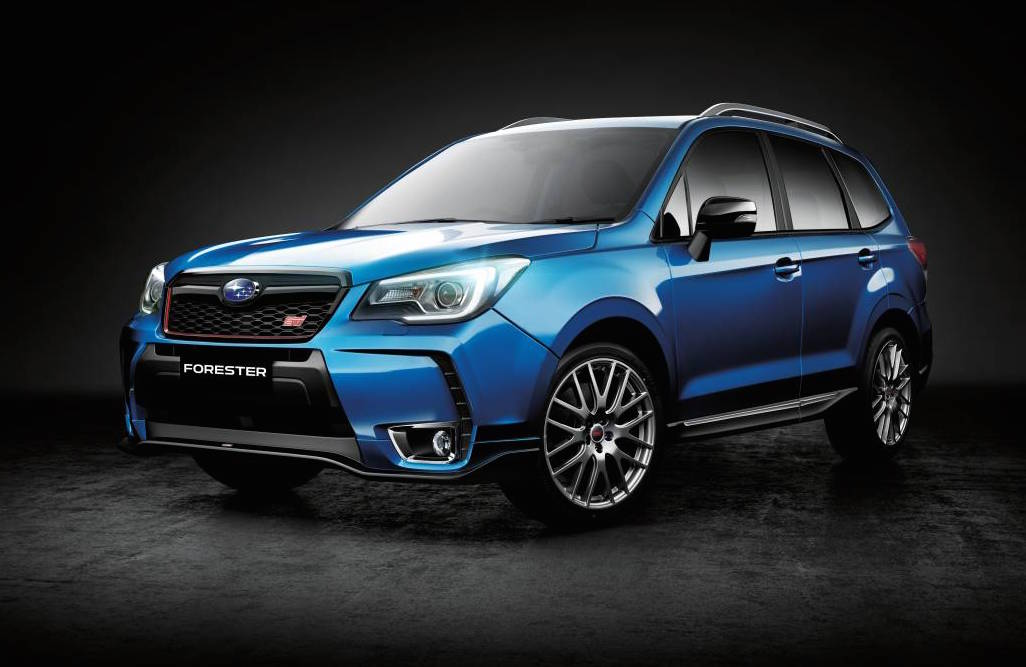 2016 Subaru Forester tS STI on sale in Australia from $54,990