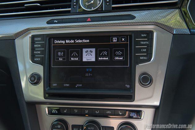 2016 Volkswagen Passat Alltrack-sport mode