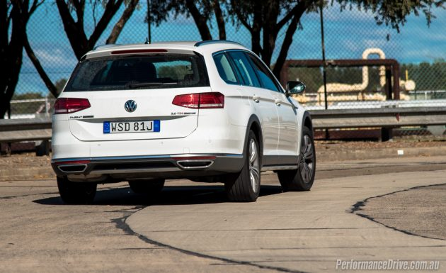 2016 Volkswagen Passat Alltrack-taillights
