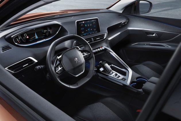 2017 Peugeot 3008-interior
