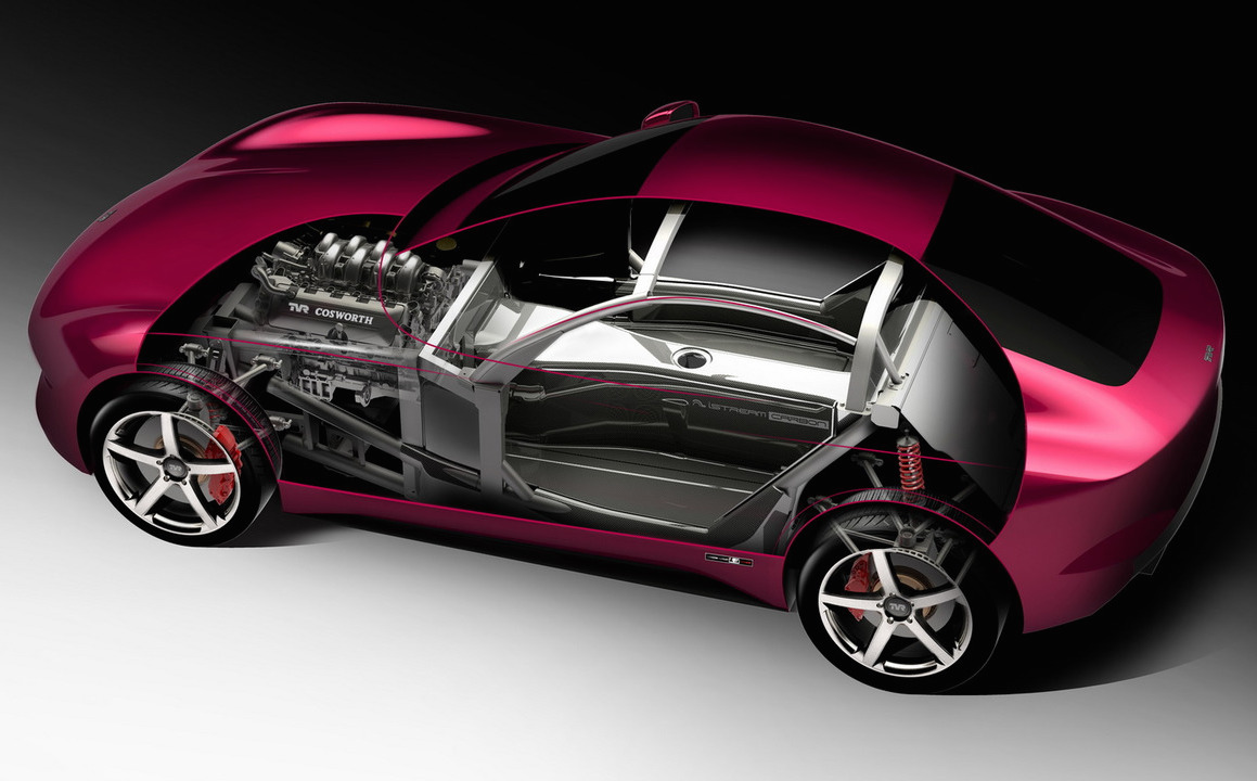 New TVR iStream carbon chassis previewed, model could revive Griffith name
