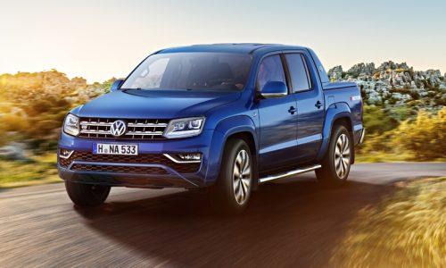 2017 Volkswagen Amarok; more details released, interior revealed