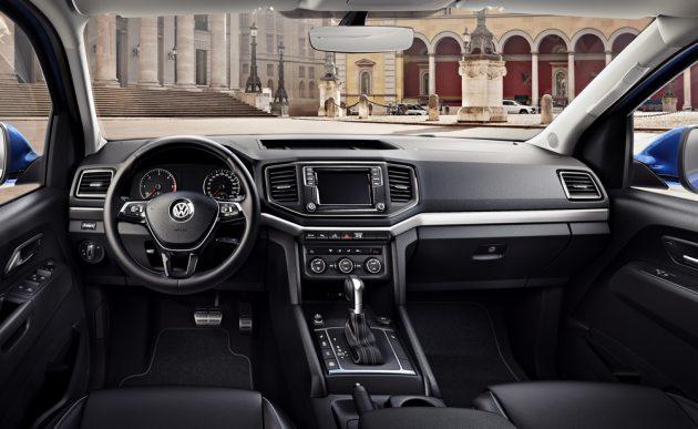 2017 Volkswagen Amarok-interior