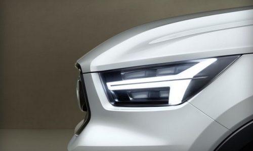 Volvo previews all-new model via Snapchat, new XC40 small SUV?