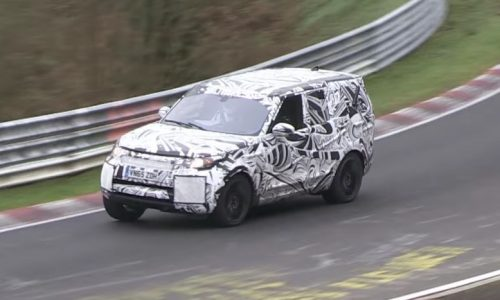 2018 Land Rover Discovery prototype spotted at Nurburgring (video)