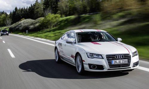 Special Audi A7 showcases human-like auto pilot tech (video)