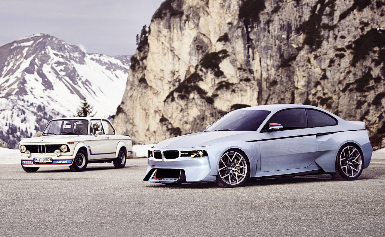 Bmw 2002 Hommage Concept Pays Tribute To Original 2002