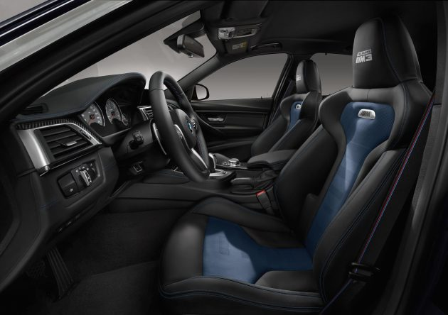 BMW M3 30 Jahre-interior