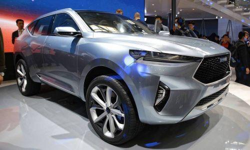 Haval HR-02 & HB-02 concepts preview future SUVs