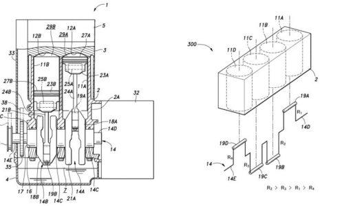 Honda developing variable cylinder displacement engine