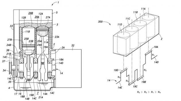 Honda variable displacement patent