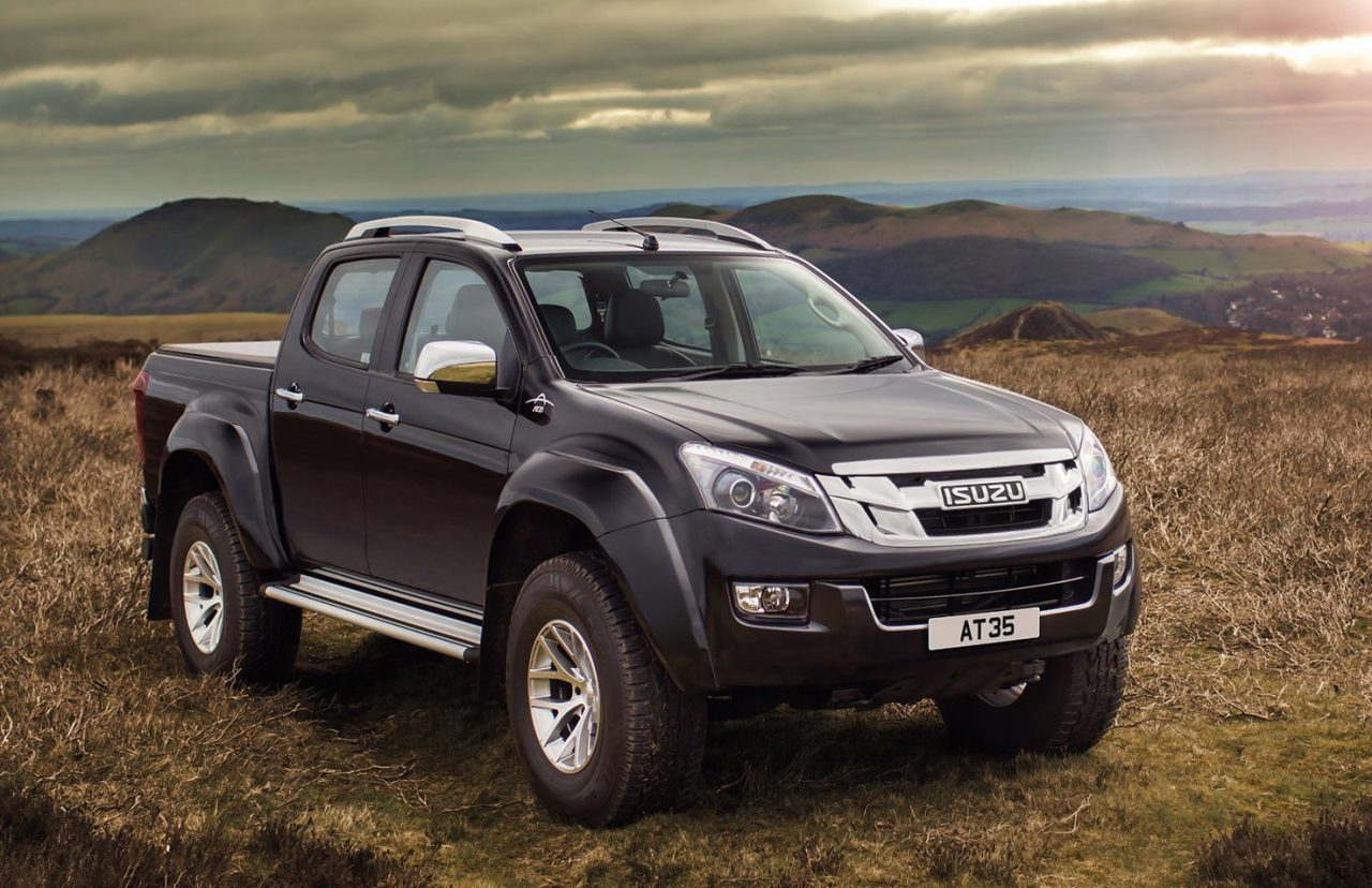 Isuzu D Max At35 Arctic Off Road Special Introduced In The