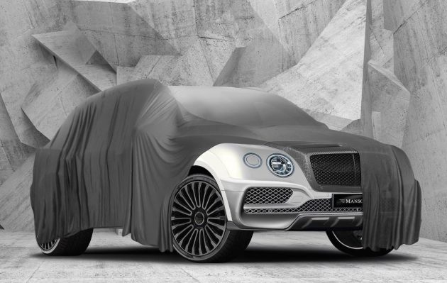 Mansory Bentley Bentayga preview