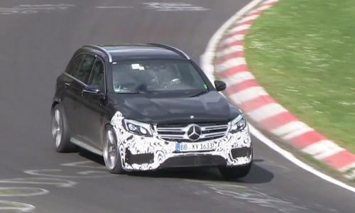Video: Mercedes-AMG GLC 63 spotted, most potent SUV in the class