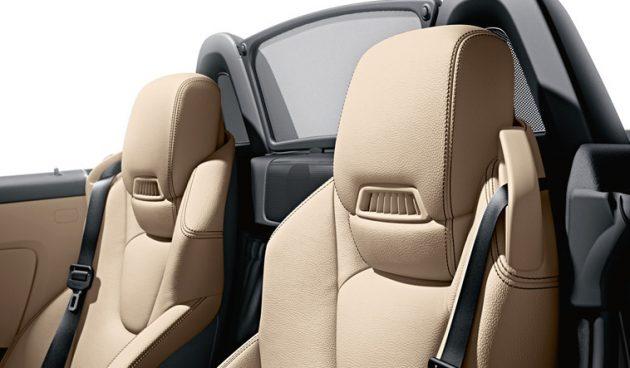 Mercedes-Benz SLK Airscarf