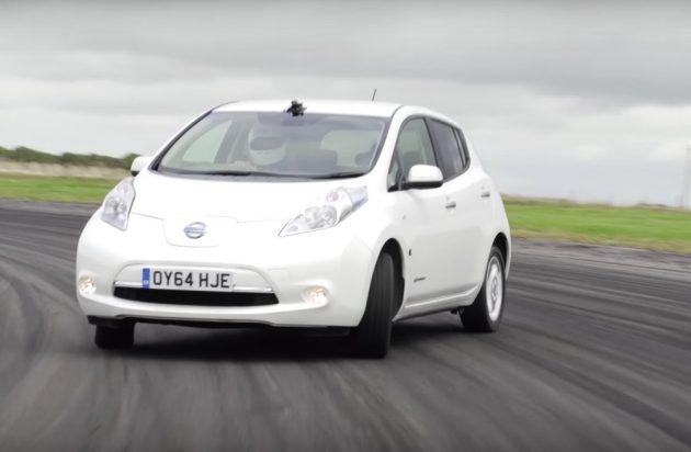 Nissan LEAF drift
