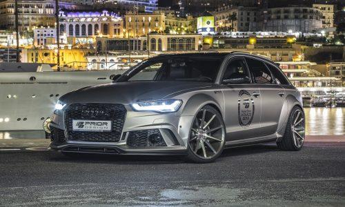Prior Design creates wicked wide-body Audi A6 Avant, tunes 3.0 TDI & 4.0 TFSI