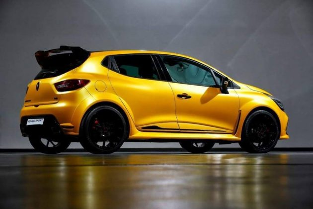 Renault Clio RS 250-rear
