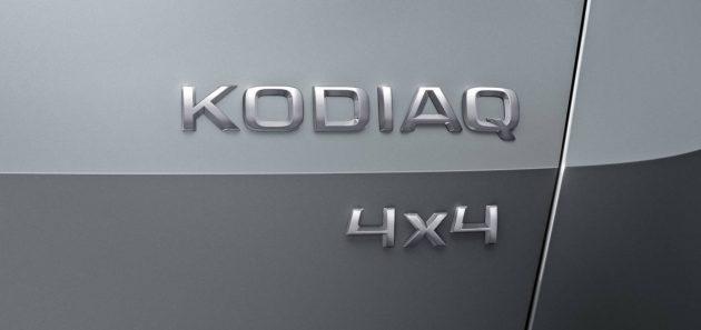 Skoda Kodiaq-badge