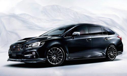 Subaru Levorg STI Sport revealed as new hotted up wagon