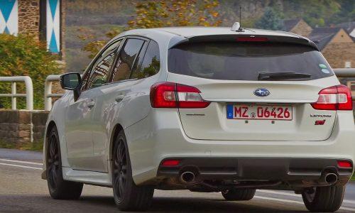 Subaru Levorg STI confirmed, likely JDM only (video)