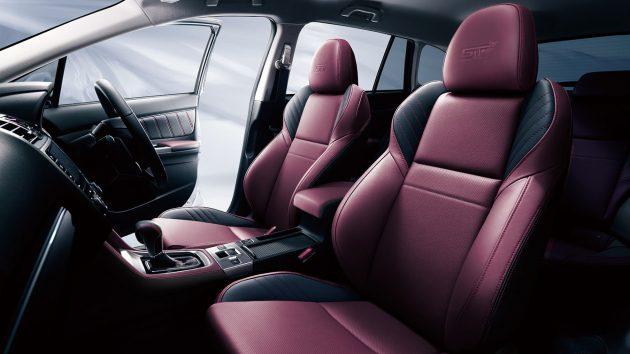 Subaru Levorg STI-seats
