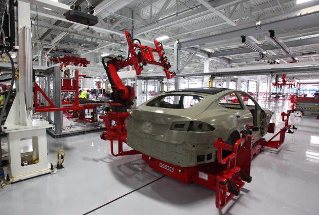 Tesla Model S production