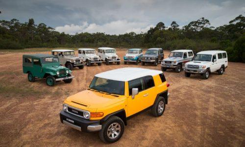 Toyota FJ Cruiser off the market in Australia in August