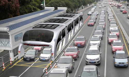 Innovative Land Airbus could help traffic in China (video)