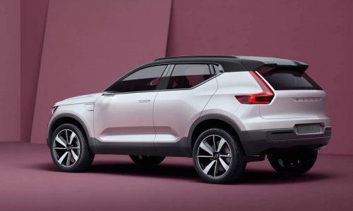Volvo Concept 40 revealed, previews 2018 XC40 SUV & S40 sedan